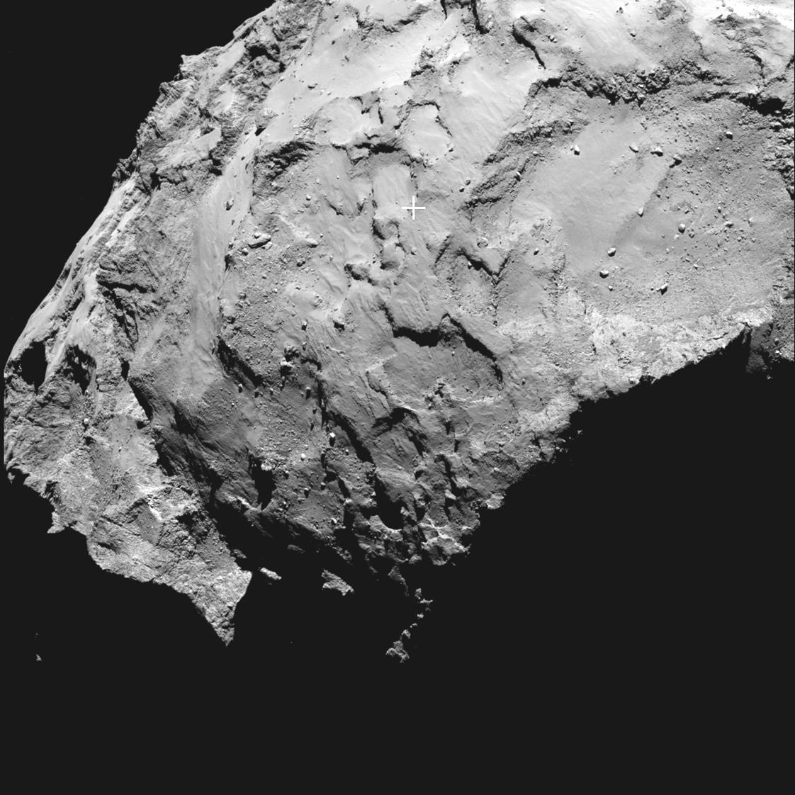 Comet's Head Selected as Landing Site for Rosetta's ...