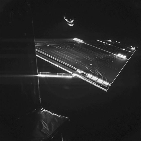 Philae Snaps a Spacetastic Selfie