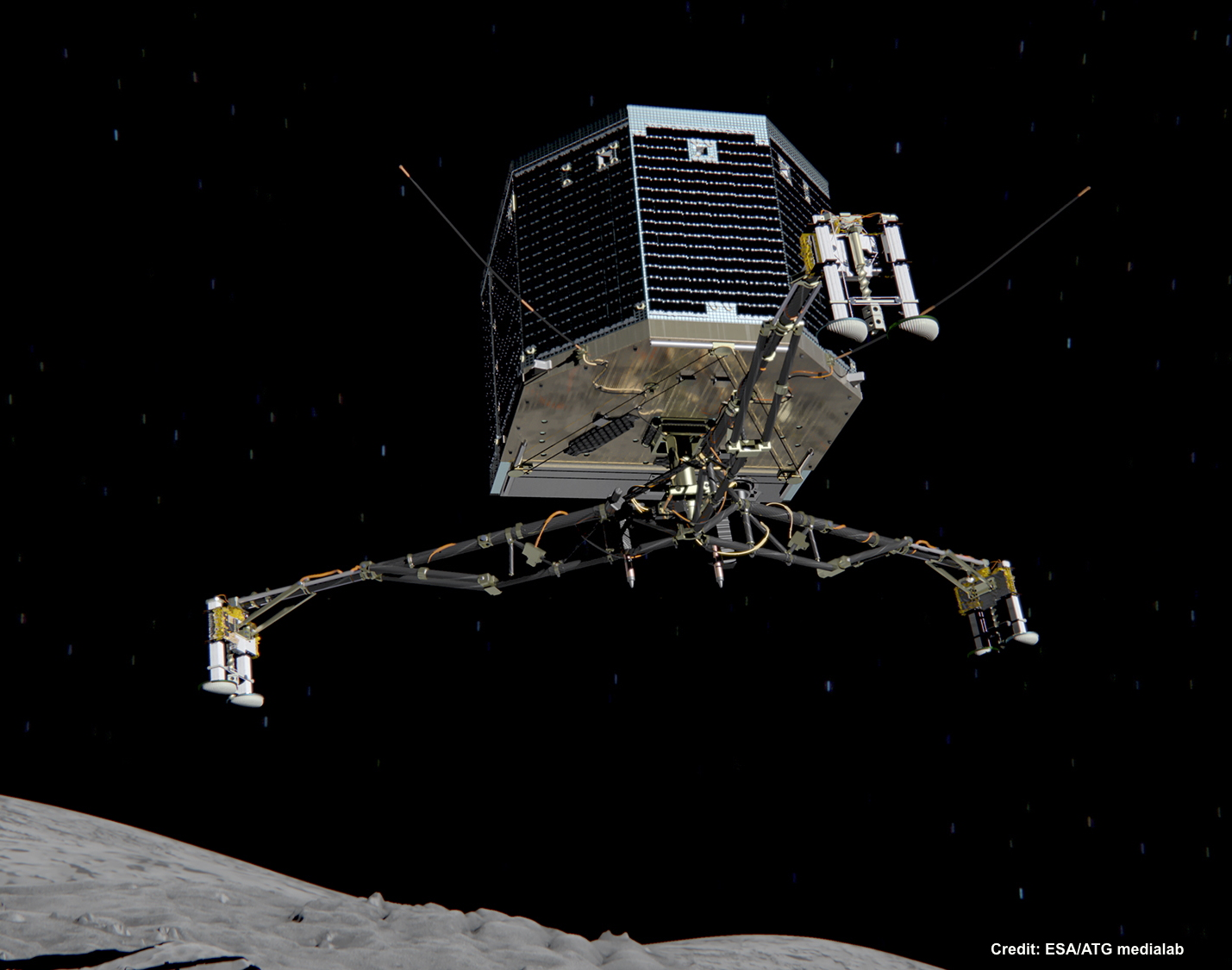philae landings landers - photo #10