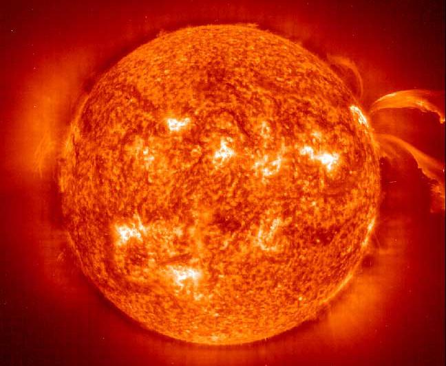 Новая методика наблюдений за солнечными циклами (3 фото)