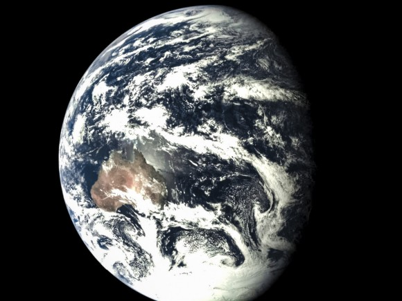 earth and moon together - photo #42