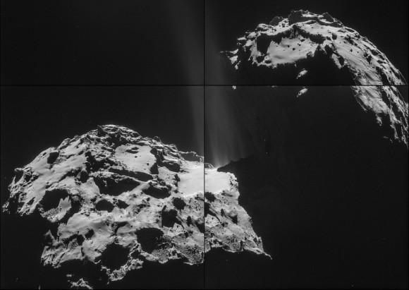 Stinky! Rosetta's Comet Smells
