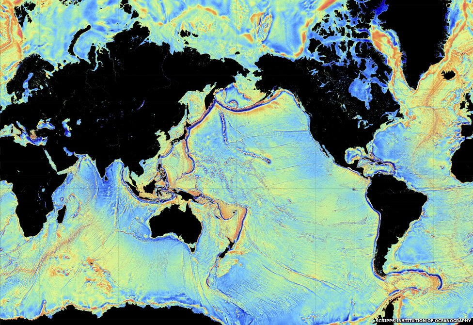 Gravity s magic new seafloor map shows earth s uncharted for 10 facts about sea floor spreading