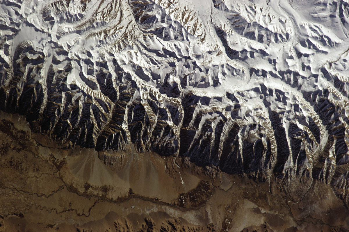 Himalayas From Space NASA - Pics about space