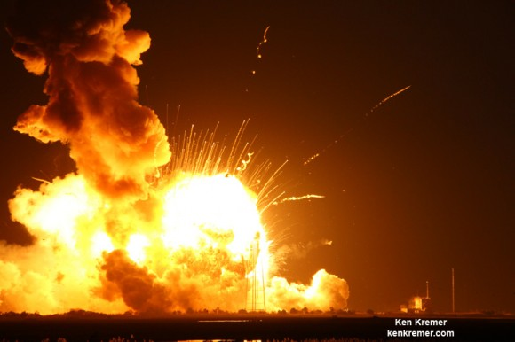 Antares Rocket Failure Pushes