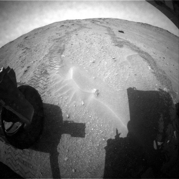 Among the Martian Hills: Curiosity Rover Peers At Rocks Of Mount Sharp