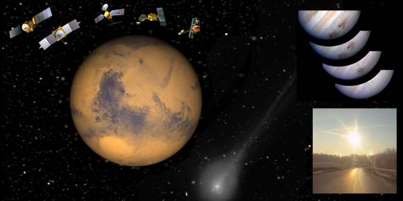 Comet Siding Spring Close Call For Mars Wake Up Call For