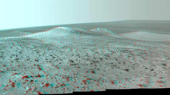 This 3-D Martian Picture Feels