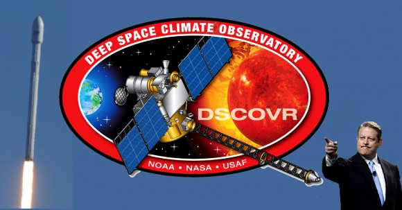 The Deep Space Climate Observatory (DSCOVR) mission has withstood time, politics, technological changes and now stands prepared for launch. (Credit: NASA, NOAA,SpaceX, Getty Images)