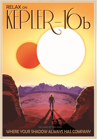 "NASA Exoplanet ""Travel Posters"" Aim To Help With Space Trip Planning"