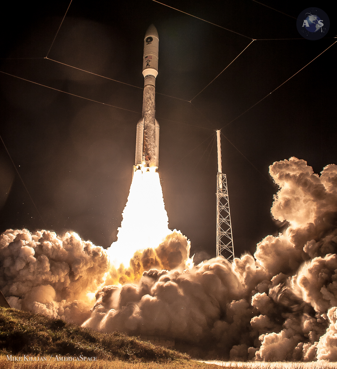 Most Powerful Atlas V Delivers A Most Spectacular