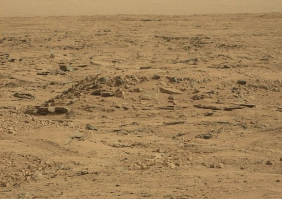 Curiosity's recent shot of the Martian landscape. Doesn't look warm, does it? Credit: NASA/JPL