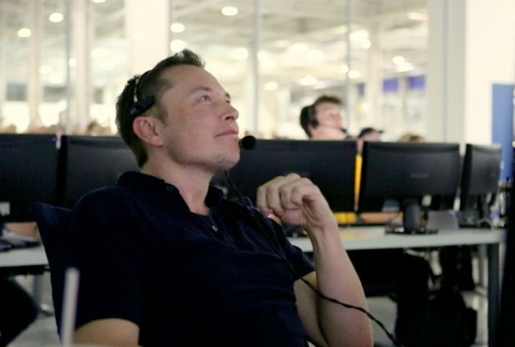 Elon Musk. Credit: SpaceX.