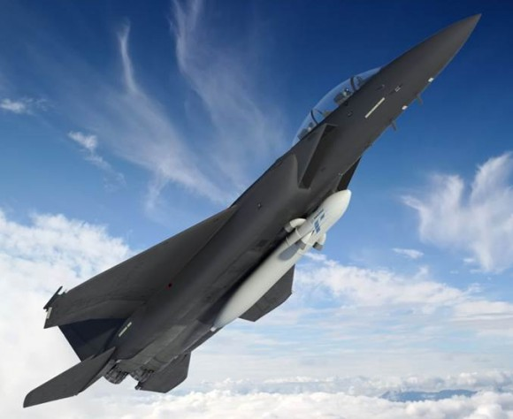Artist's impression of the ALASA being deployed by a USAF fighter jet. Credit: DARPA