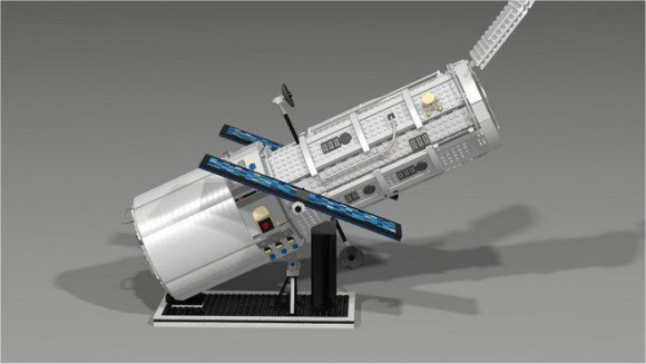 A proposed LEGO version of the Hubble Space Telescope won't be produced, Credit: LEGO.