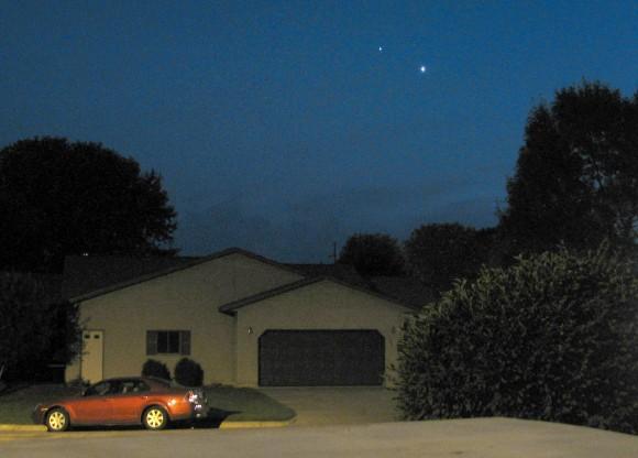 Venus and Jupiter Meet At Last