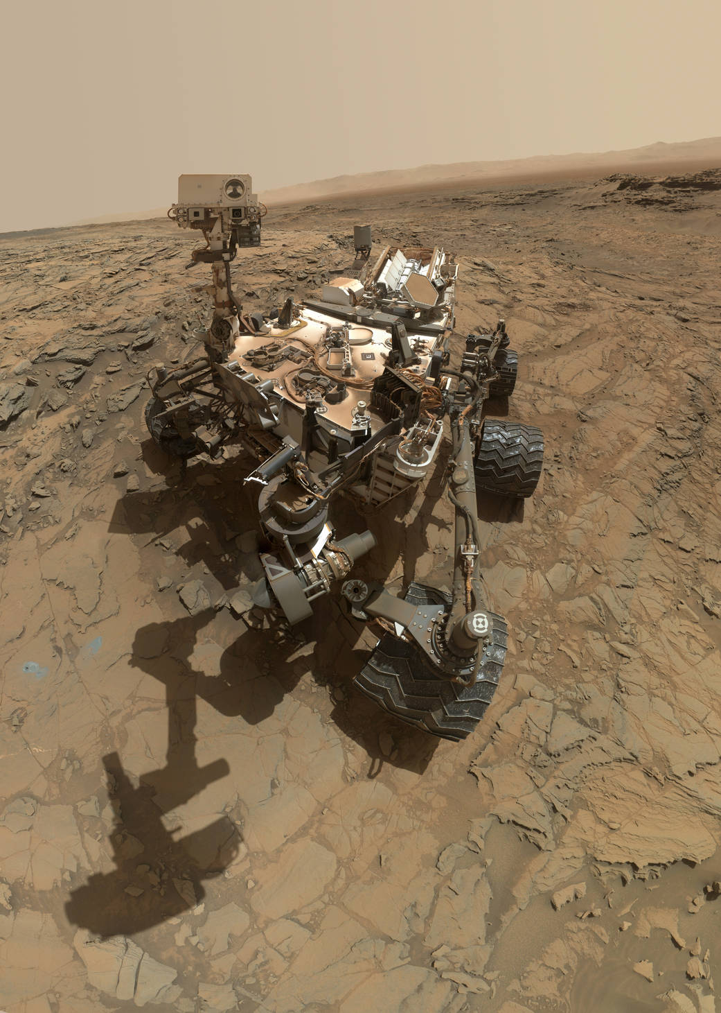 Curiosity Snaps 'Big Sky' Drill Site Selfie at Martian ...