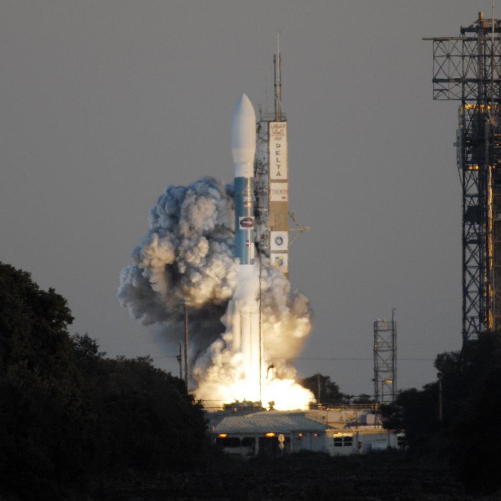 NASA's THEMIS Mission Blasts Off