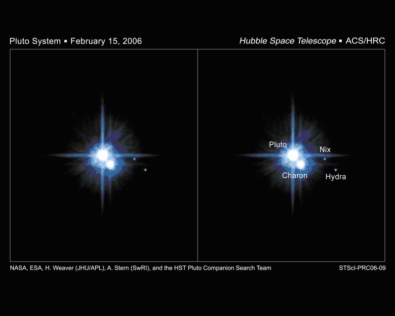 Pluto Moons Nix And Hydra S: Pluto's Moons, Nix And Hydra, May Have Been Adopted