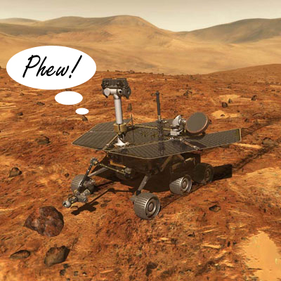 Mars Rover Contact Reestablished Spirit Is Alive