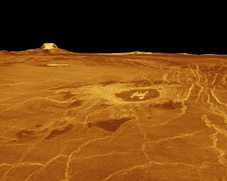 image of venus surface this is another photograph of venus taken    Venus Planet Surface
