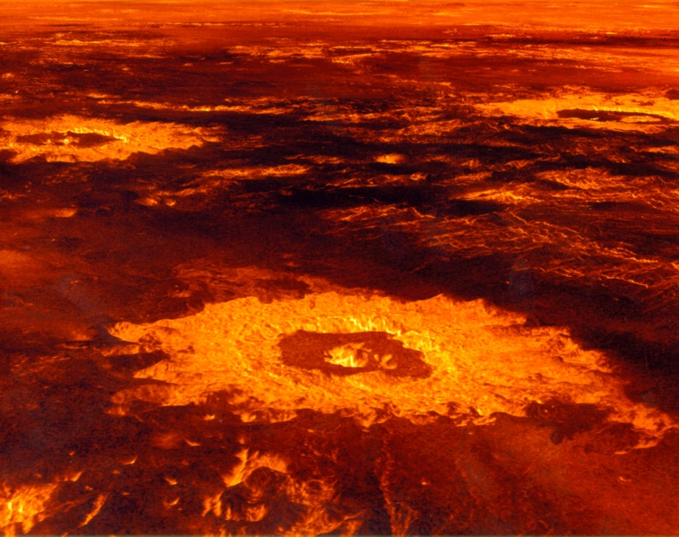 Planet Venus Surface Photos - Pics about space