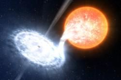 Artist impression of a black hole. Credit: ESO/L. Calçada
