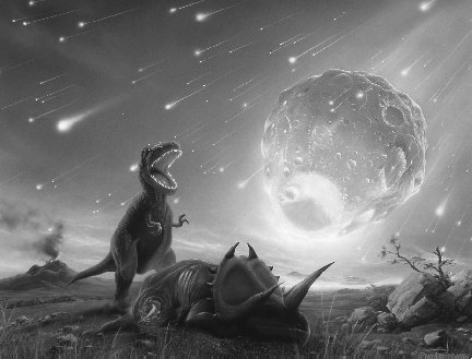 dinosaur killing asteroid size - photo #2