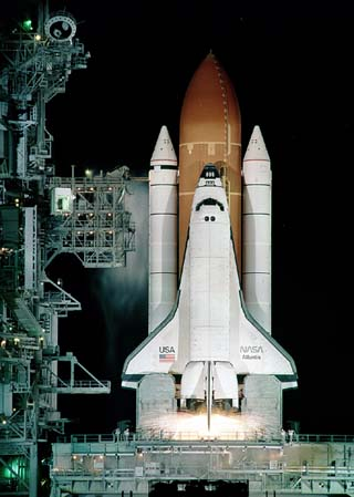 when did the us space shuttle program began - photo #5