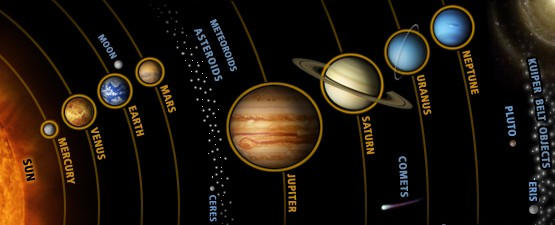 what are the visible characteristics of the planets and moons in our solar system - photo #10