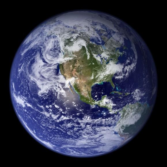 Western Hemisphere of Earth