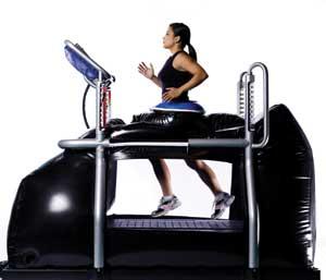 Anti Gravity Treadmill Developed From Nasa Technology