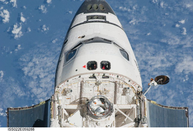 space shuttle nose - photo #10