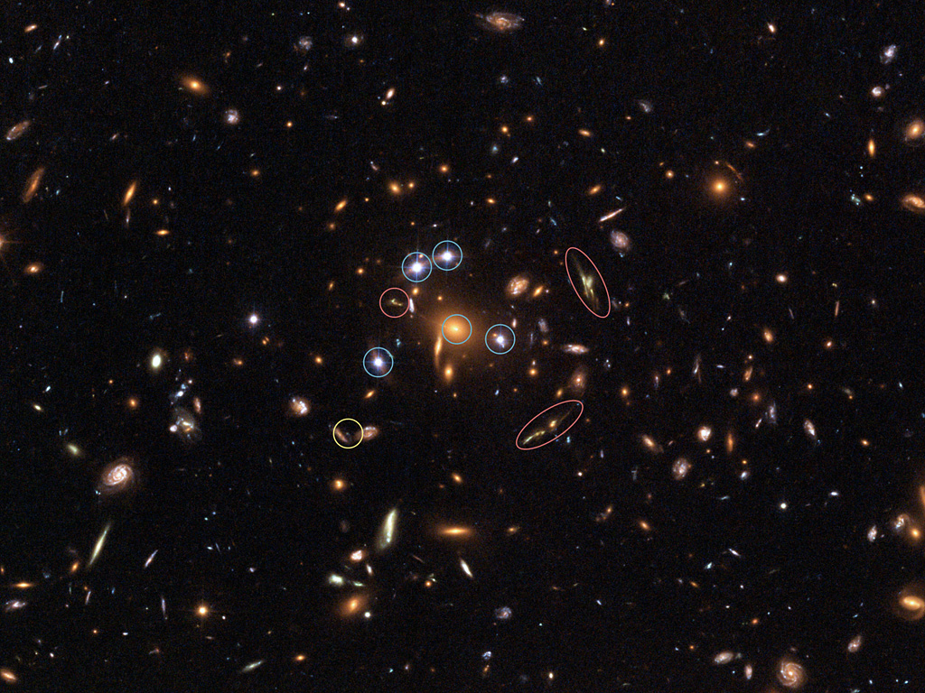 NASA Hubble Deep Field 2014 - Pics about space