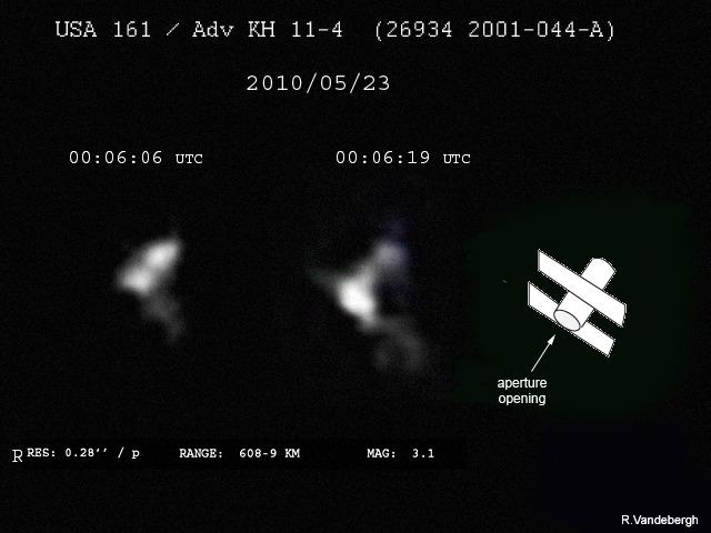 Spying on a Hubble Telescope Look-Alike
