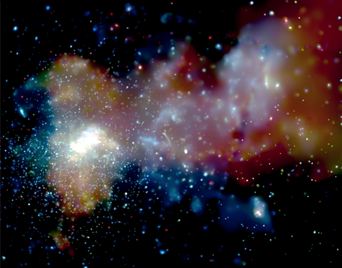 milky way in is what a space - photo #16