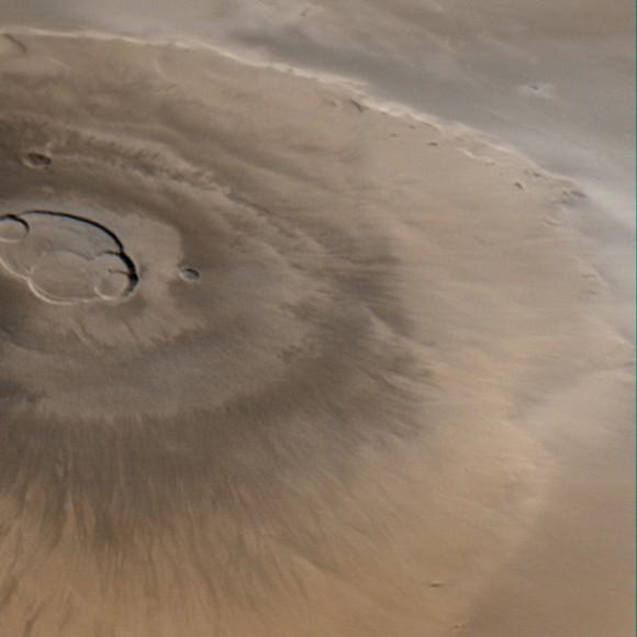 nasa mars volcano biggest one-#14