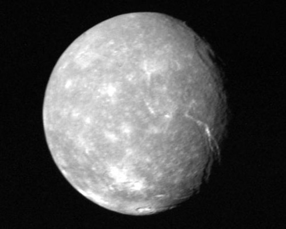 Uranus' Moon of Titania