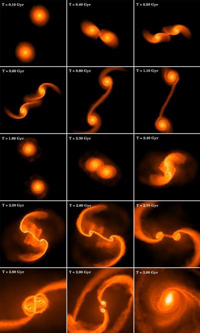 black holes form galaxies - photo #16