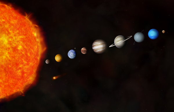 all the planets in order from the sun - photo #2