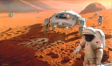 Could a Human Mars Mission Be Funded Commercially?