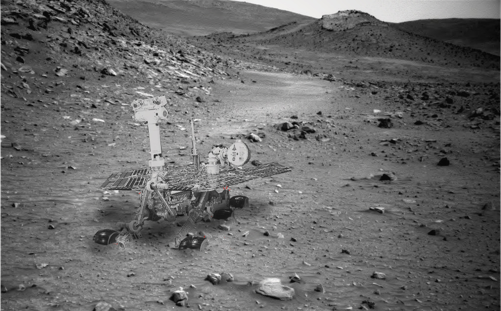 model spirit rover stuck - photo #7
