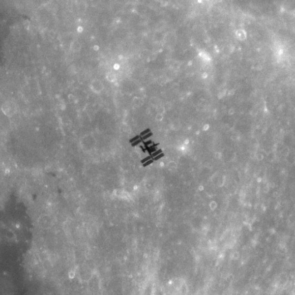 space station lunar transit - photo #13