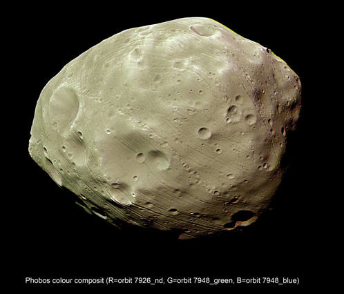 Mars Express Set for Phobos Flyby