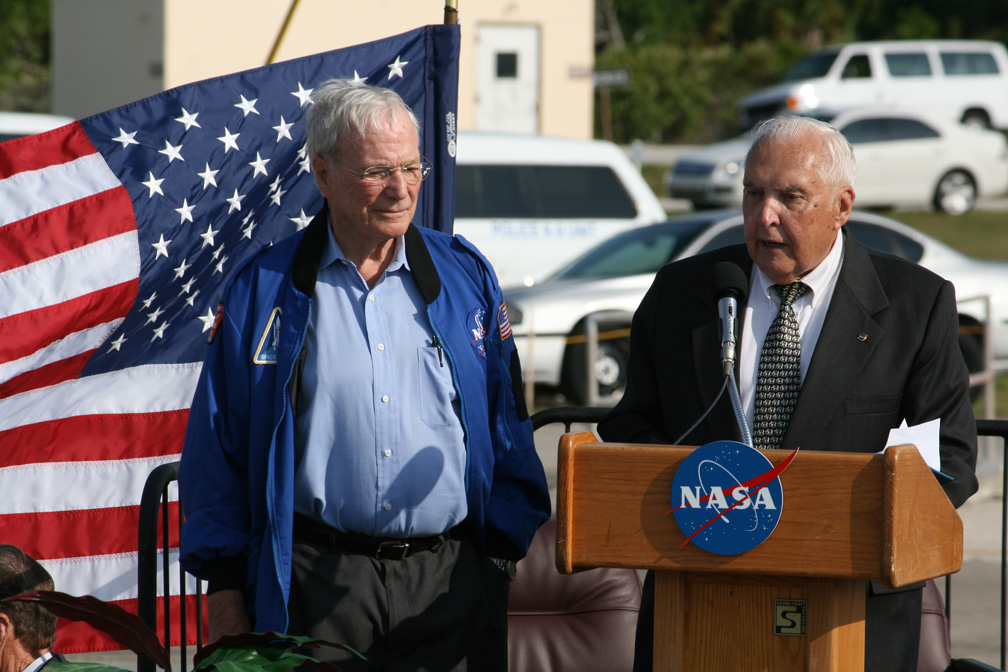 50th Anniversary Ceremony Recreates First US Manned ...