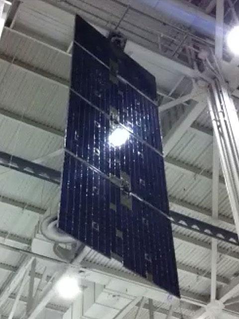 spacecraft solar array panels - photo #24