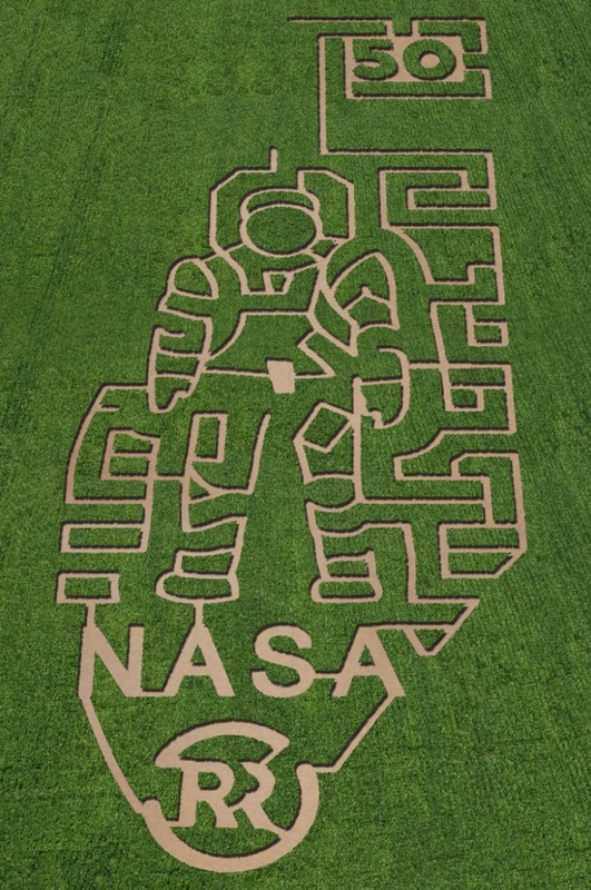 7 Incredible NASA Corn Mazes: Cool Crop Circles For Science
