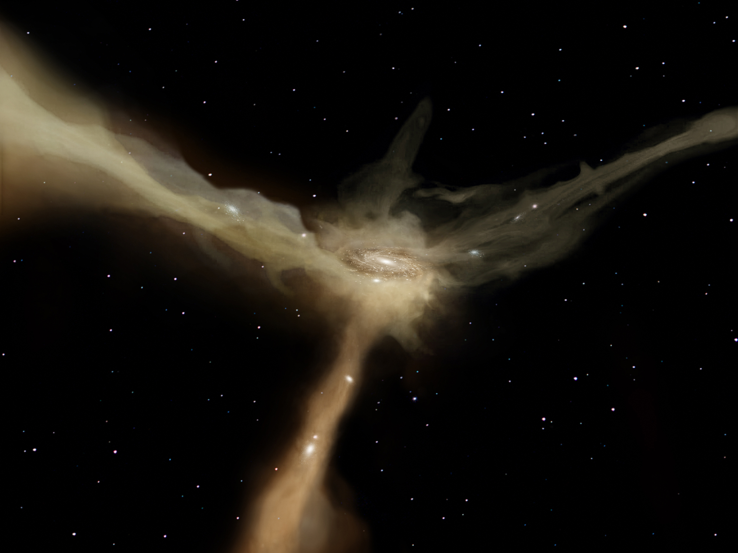 Gas, Not Galaxy Collisions Responsible for Star Formation ...