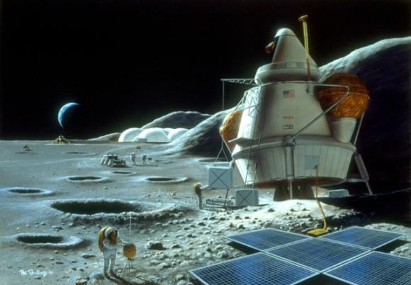 moon base materials - photo #2