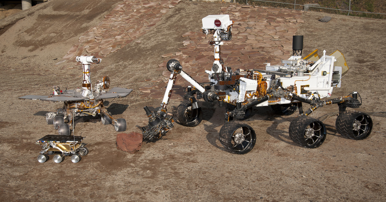 3 Generations of NASA's Mars Rovers